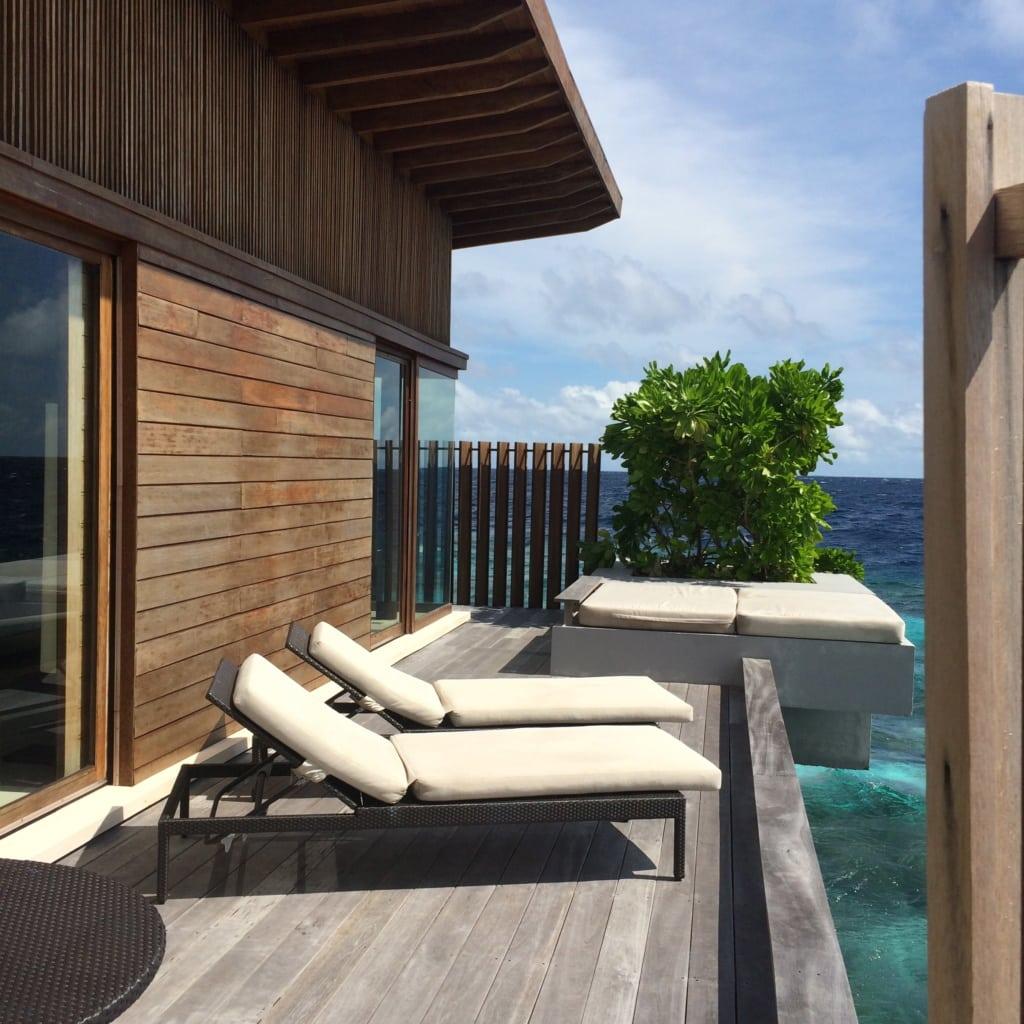 Liege im Park Hyatt Maldives