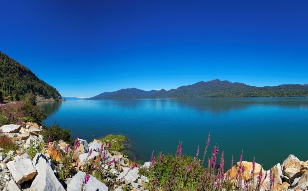 Puyuhuapi-See in Chile
