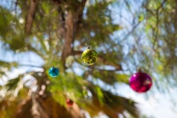 Weihnachtsbaumkugeln in Afrika
