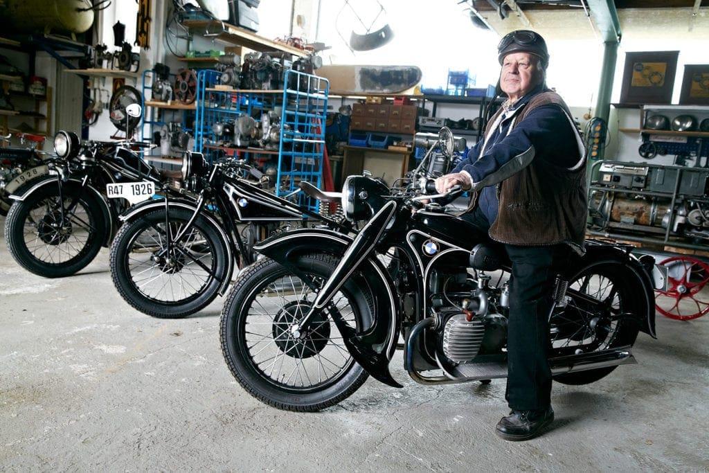 Motorrad-Ausstellung im Westerwald