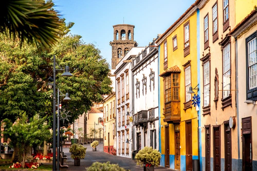 Altstadt La Laguna auf Teneriffa