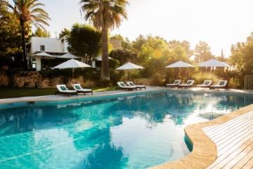 Swimmingpool im Cas Gasi auf Ibiza