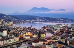 Panorama von Luzern