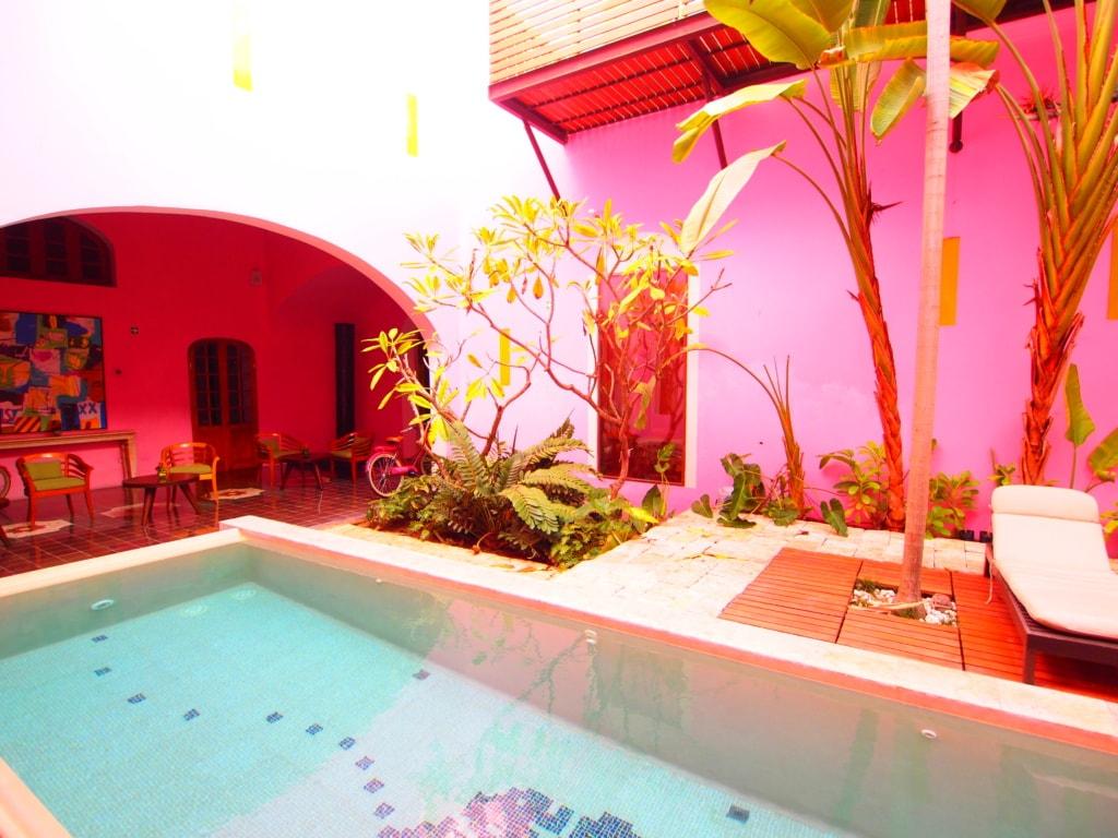 Rosas y Xocolate - Designhotel in Merida - Südmexiko
