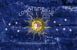 Flagge der Conch Republic