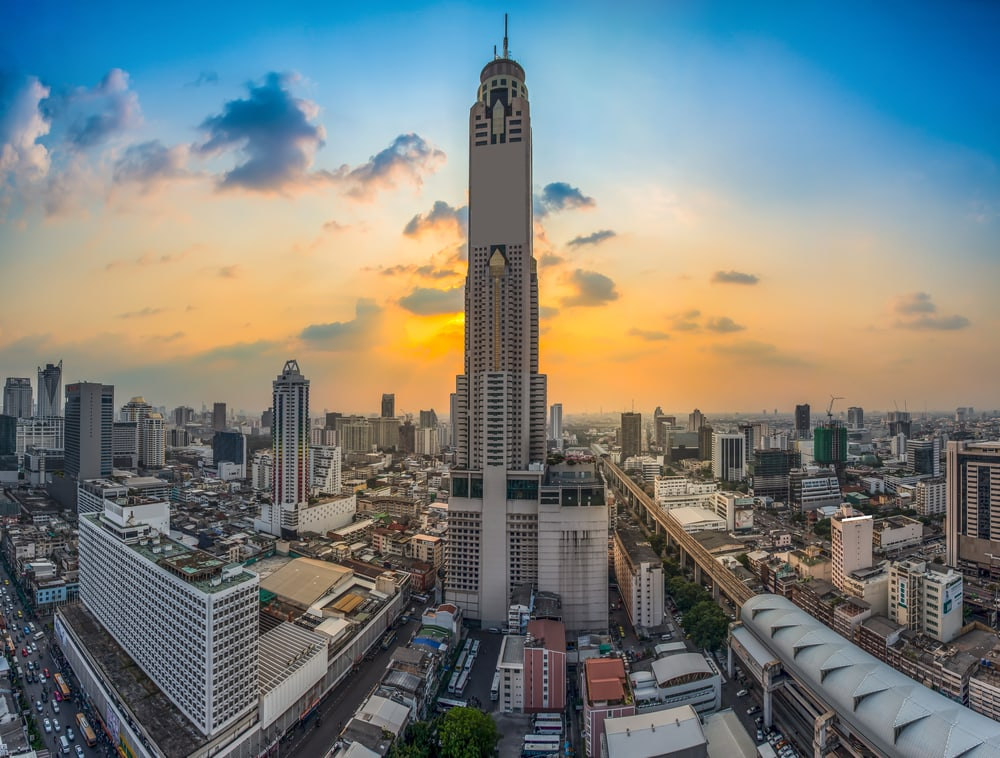 Baijok-Tower in Bangkok