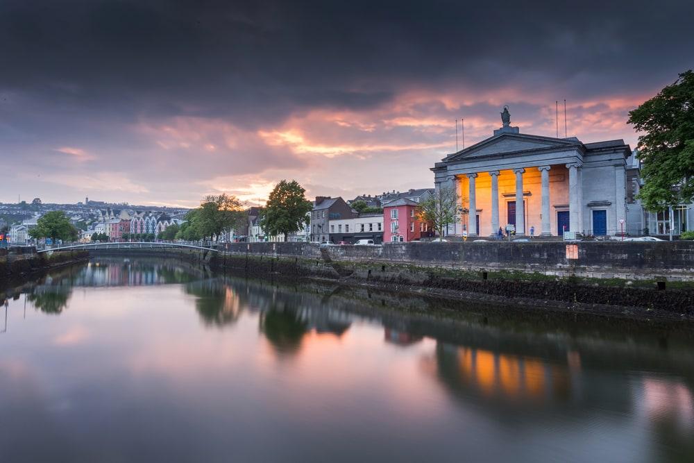 Cork City in Irland