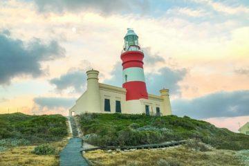Blick auf Cape Agulhas