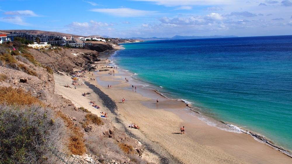 Blick auf das Meer vom Club Aldiana auf Fuerteventura