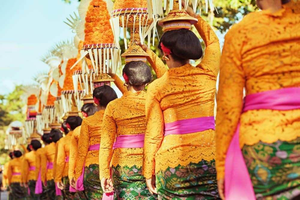 Tempelfest auf Bali