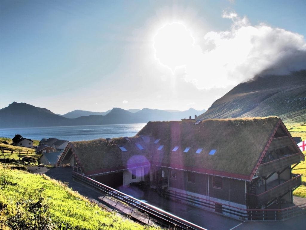 Gästehaus Gjáargarður in Gjógv