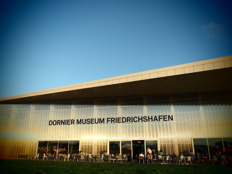 Gut aufgehoben im Dornier Museum, Friedrichshafen