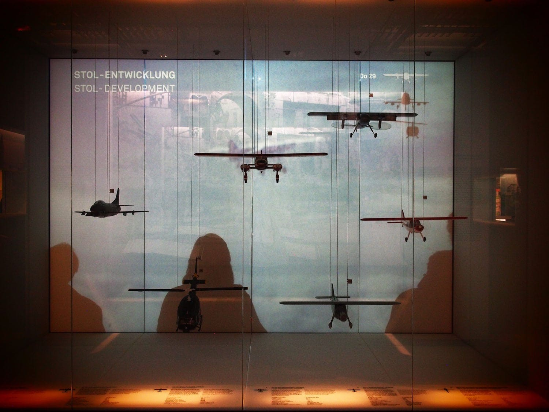Flugzeuge, die um die Wel gingen: Dornier Museum Freidrichshafen