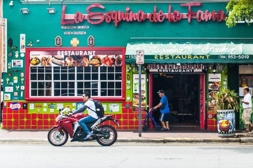 Straßenszene Little Havana Miami