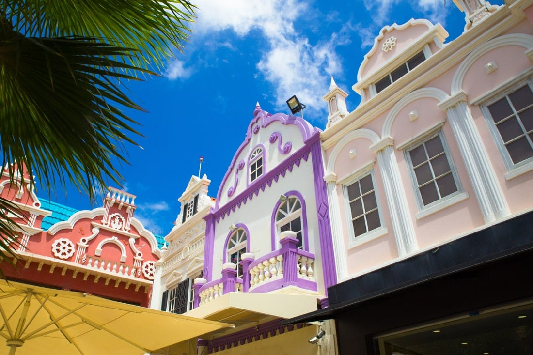 Ornajestad auf Aruba