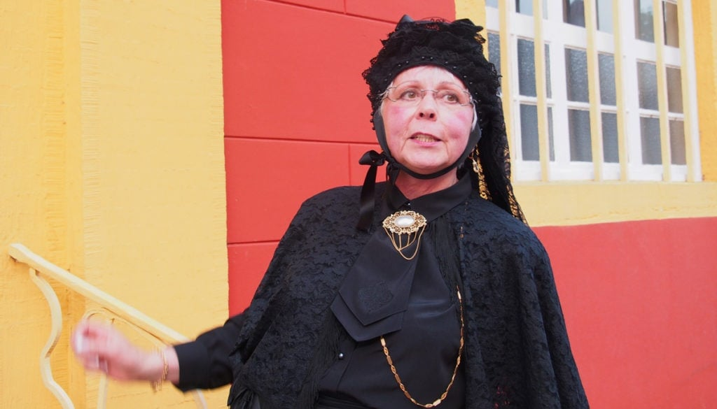 Mit Stadtführerin Ingrid von Trechten unterwegs in Meppen im Emsland