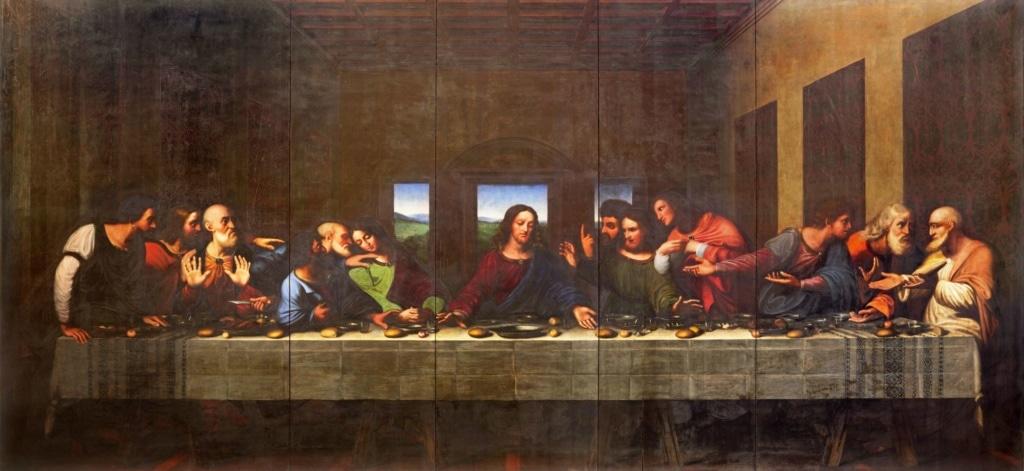 Gemälde Abendmahl von Leonardo da Vinci