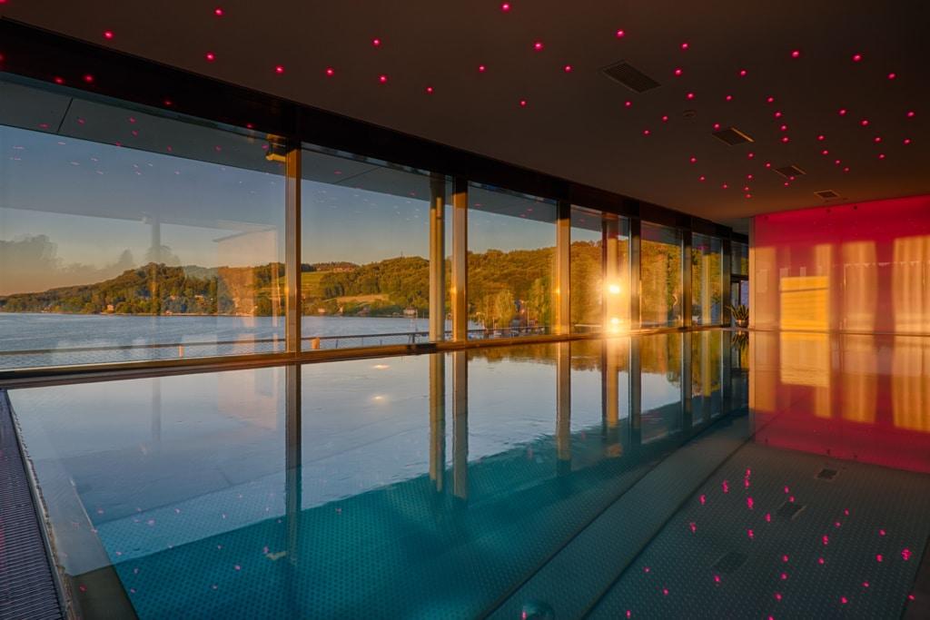 Infinity Pool Kuschel- und Genießerhotel Seewirt, Matts
