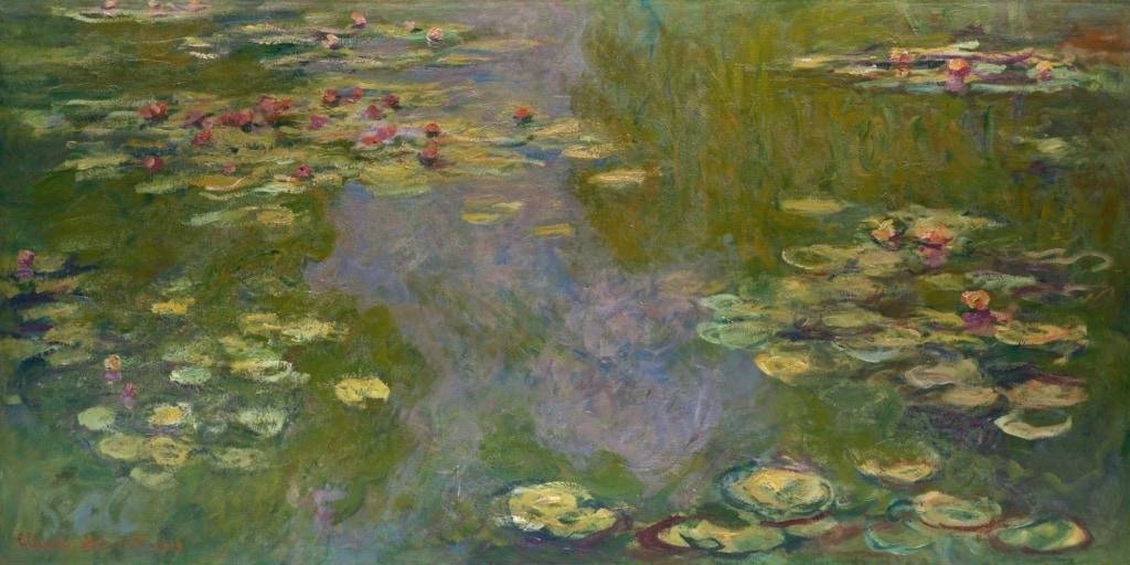 Seerosen von Monet