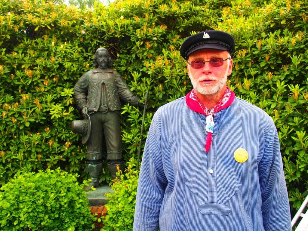 Ludger Stukenberg vom Heimatverein Papenbörger Hus im Emsland