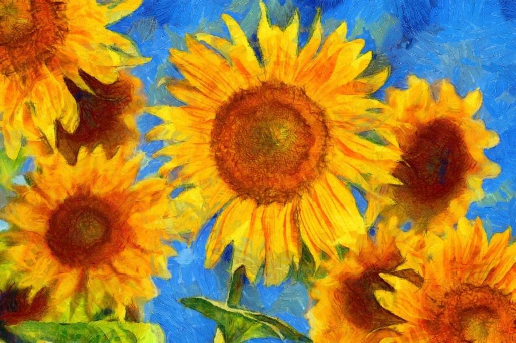 Sonnenblumen-Gemälde von Vincent van Gogh