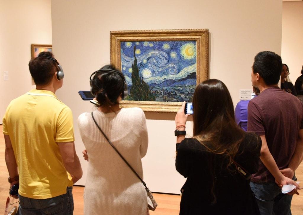 Sternennacht von Gogh