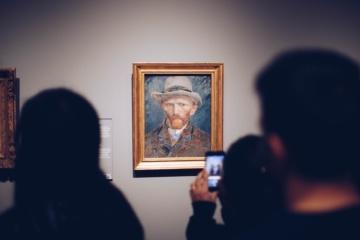 Meisterwerke der Welt: Portrait von Van Gogh im Rijksmuseum in Amsterdam