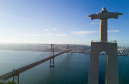 Statue Christo Rei in Lissabon