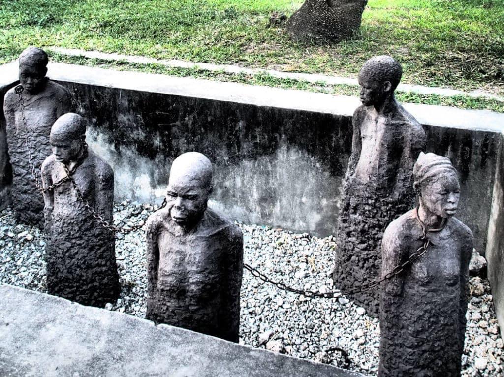 Sklavenmarkt - Denkmal auf Sansibar
