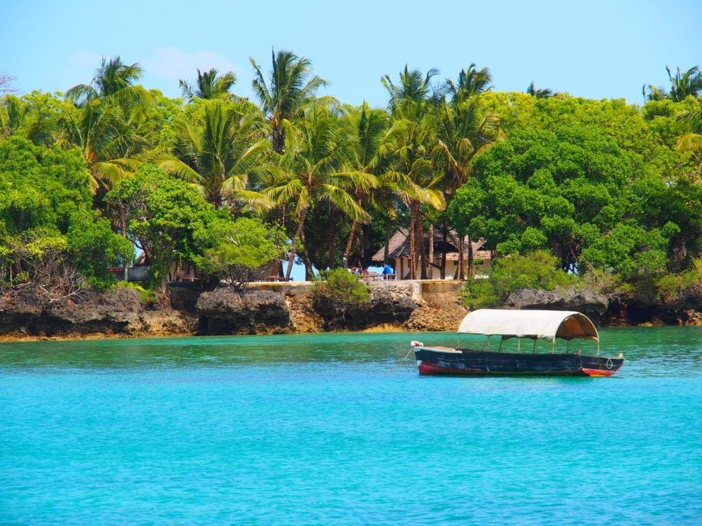 Robinson-Crusoe-Gefühl pur auf Grove Island, Sansibar