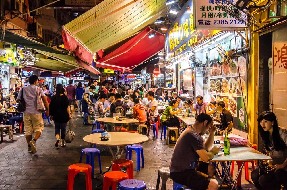 Tipps für Hongkong: Essen auf der Temple Street