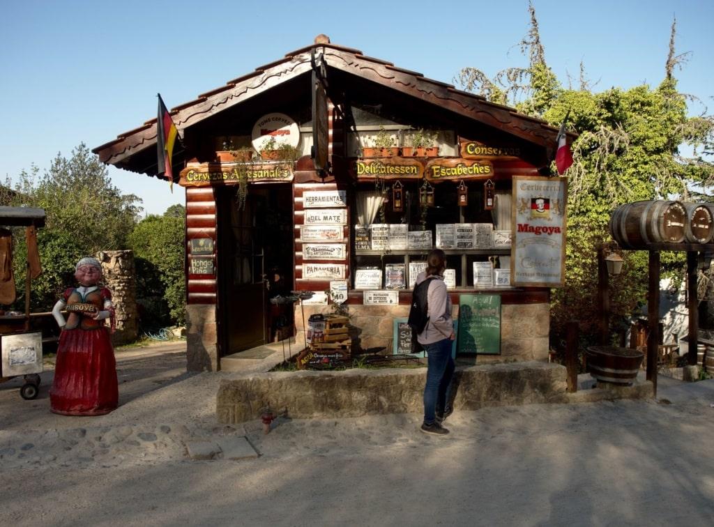 Holzhütte in La Cumbrecita, Argentinien