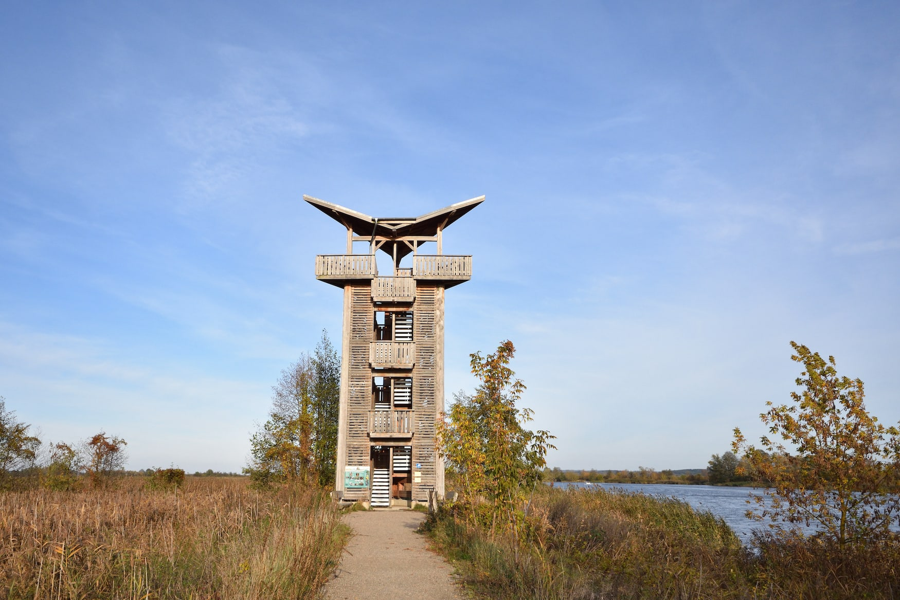 Nationalpark Unteres Odertal in Mescherin