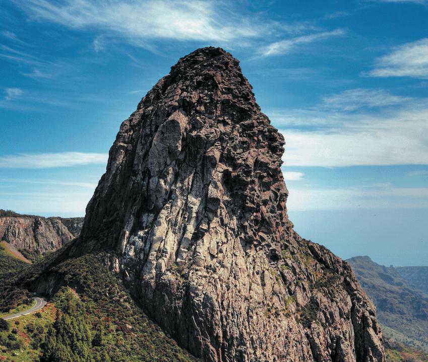 Felskegel auf La Gomera