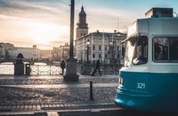 Reise-Guide: Westschweden - Straßenbahn in Göteborg