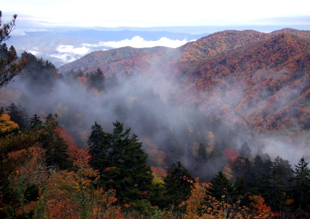 Great Smoky Mountains National Park im Herbst