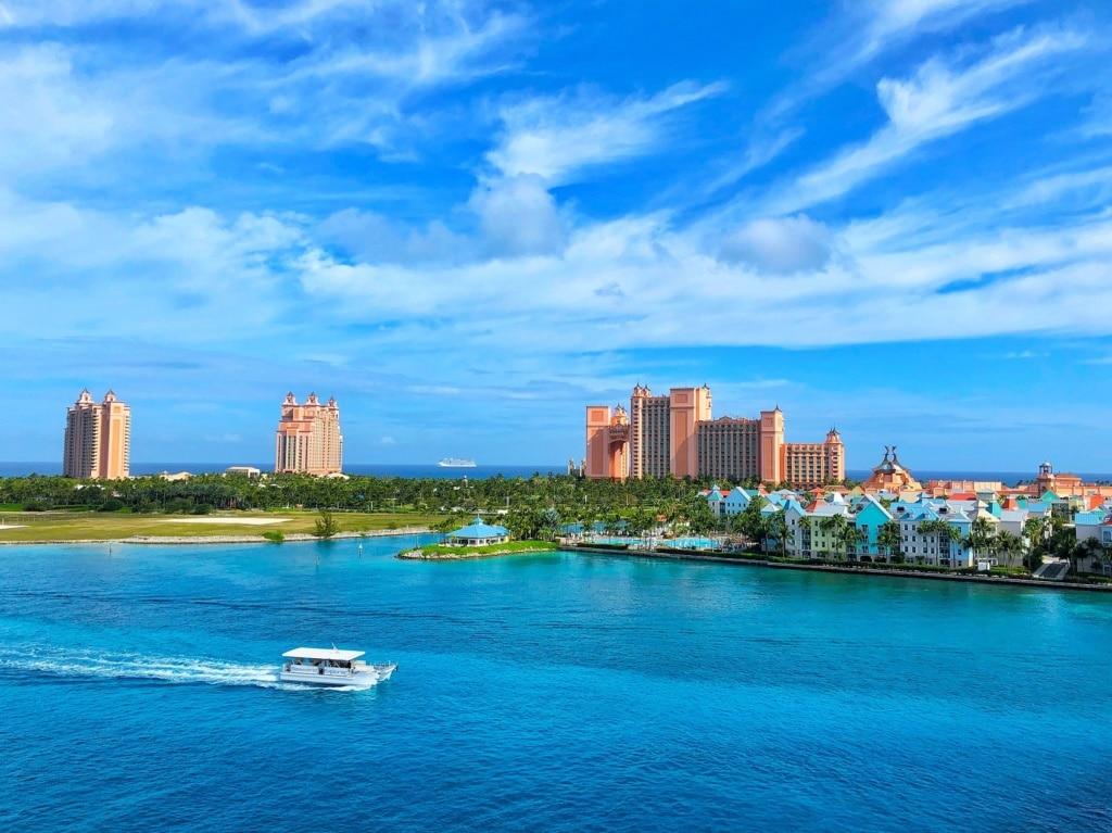Das Atlantis Resort auf Paradise Island ist ein riesiger Vergnügungstempel.