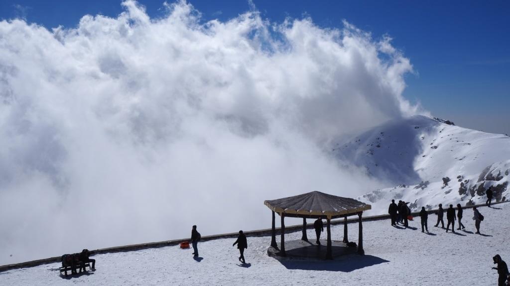 Skigebiet Tochal im Iran