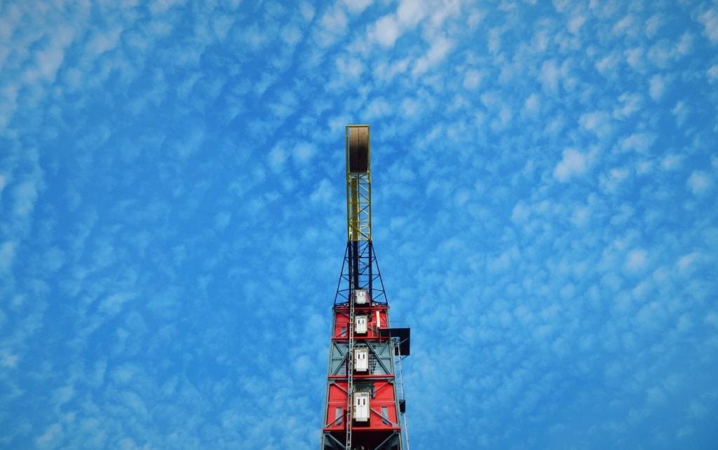 Eine Nacht über Amsterdam im The Crane Hotel ist nichts für Höhenängstige.