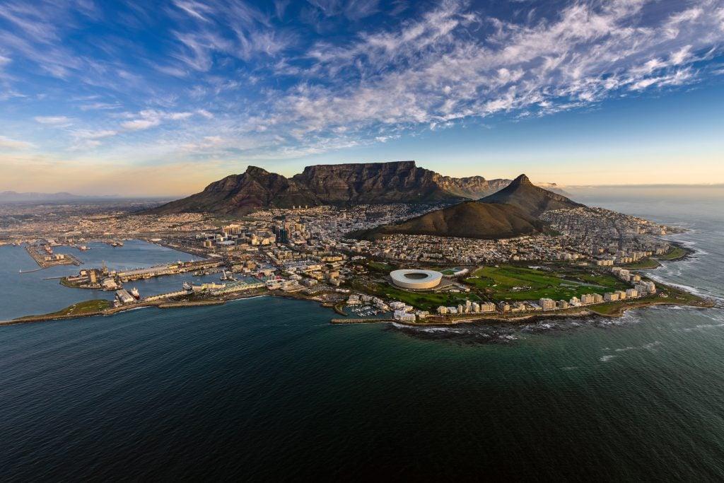 """Kapstadt in Südafrika ist einer der Drehorte von """"Der geilste Tag""""."""