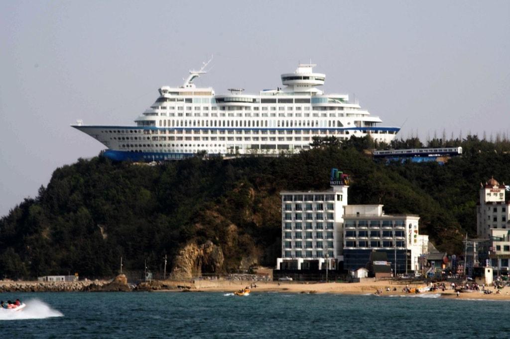 Im Suncruise Resort können auch Seekranke sich wie auf Kreuzfahrt fühlen.