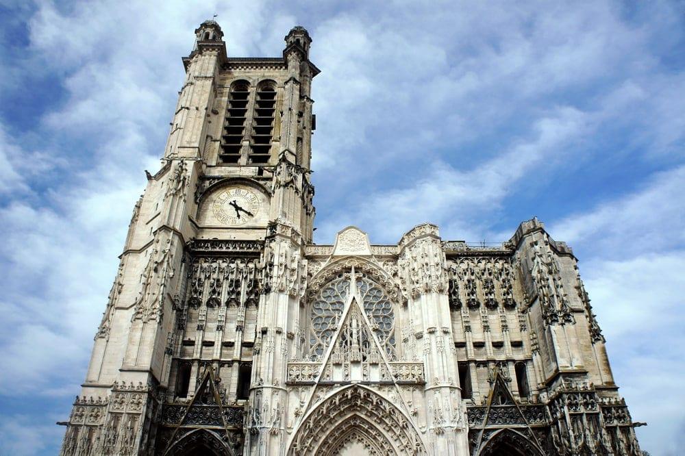 Kirche in Troyes in der Aube en Champagne