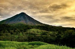 Blick auf den Vulkan Arenal in Costa Rica