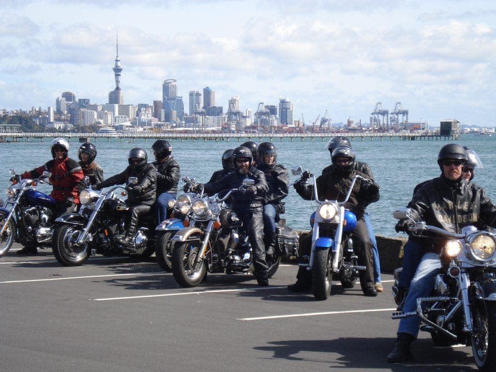 Harley-Tour durch Auckland