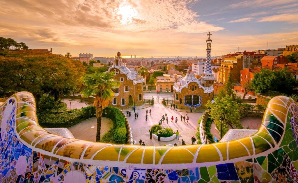 Barcelona ist eine Augenweide.