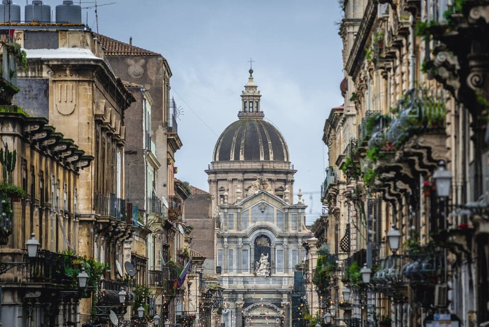 Catania-Kathedrale auf Sizilien