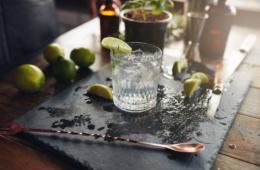 Glas Gin Tonic