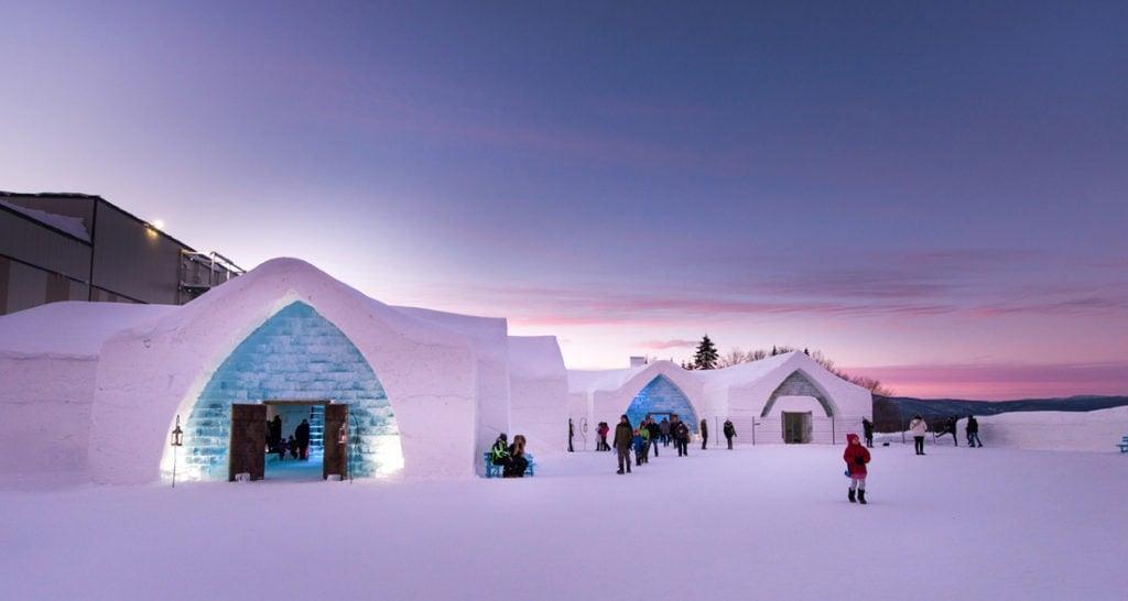 Eishotels: Hôtel De Glace in Kanada