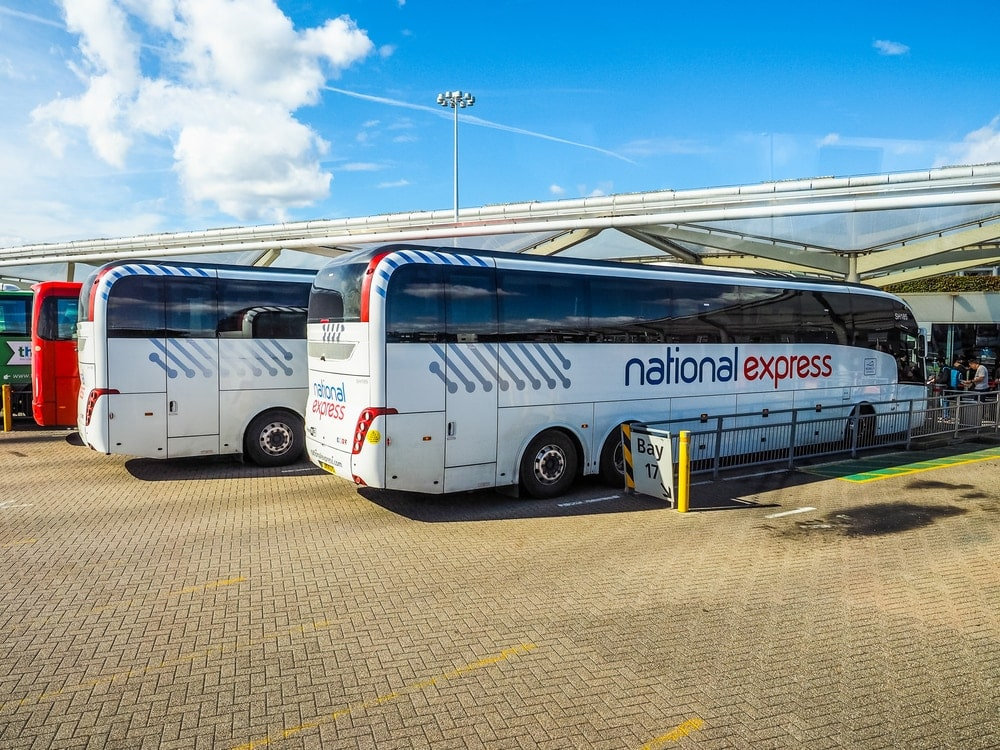 London Stansted Airport: mit dem Bus von National Express in die Innenstadt