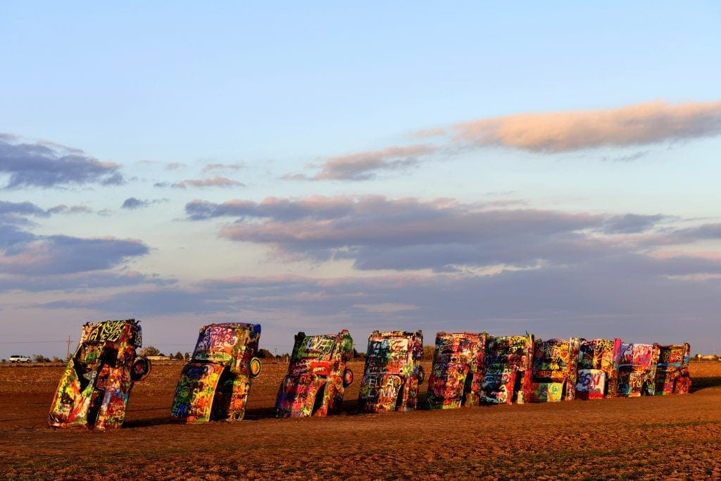 Stanley Marsh 3, Cadillac Ranch, Amarillo, Texas, USA